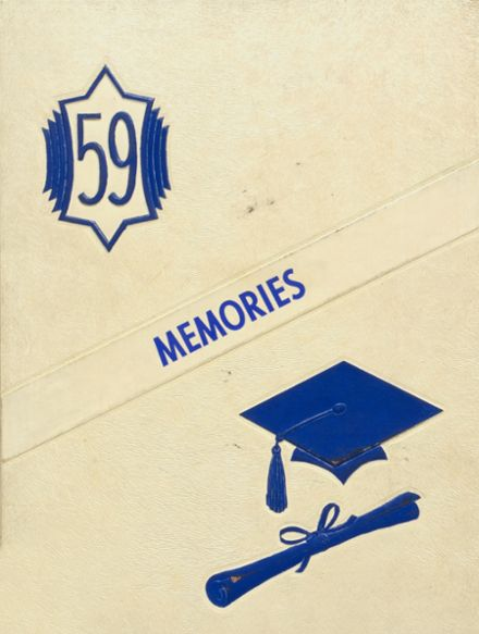 1959 Chandler High School Yearbook Cover