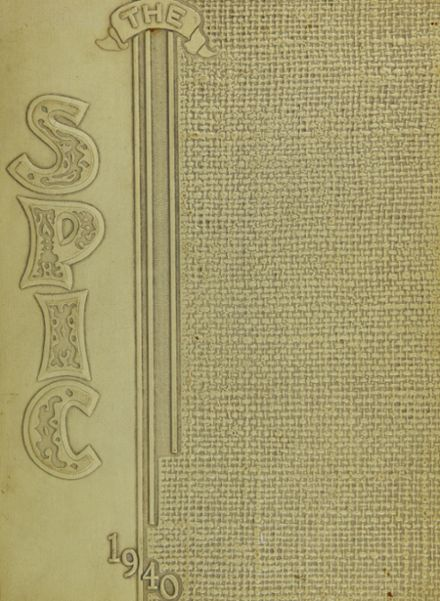 1940 Owosso High School Yearbook Cover