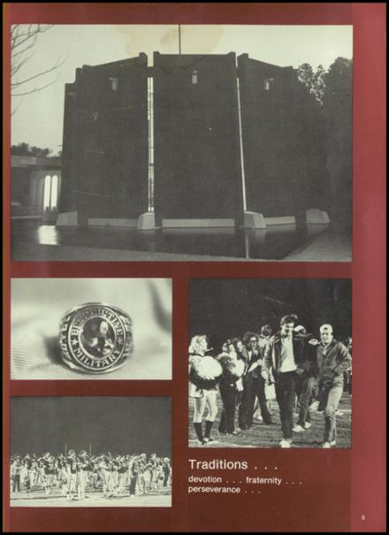 1982 Benedictine Military School Yearbook Page 9