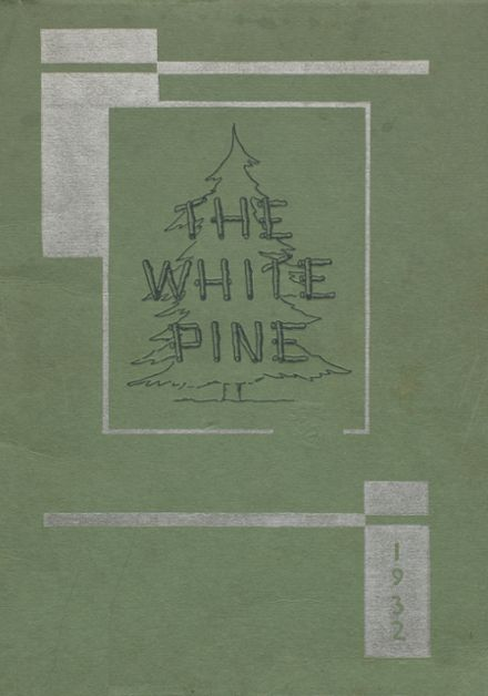 1932 Cloquet High School Yearbook Cover