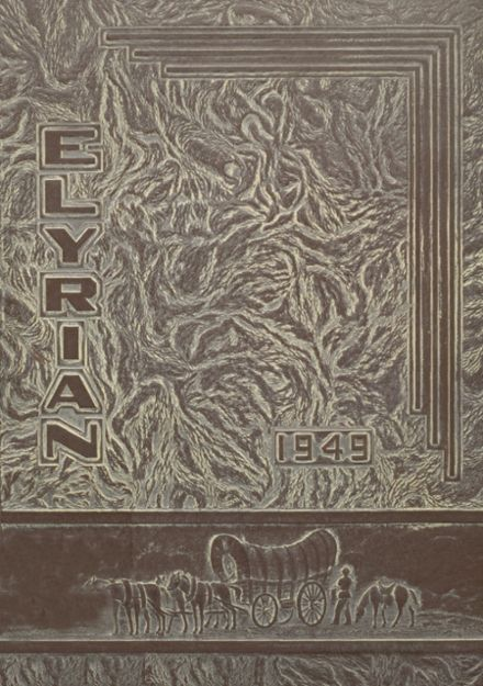 1949 Elyria High School Yearbook Cover