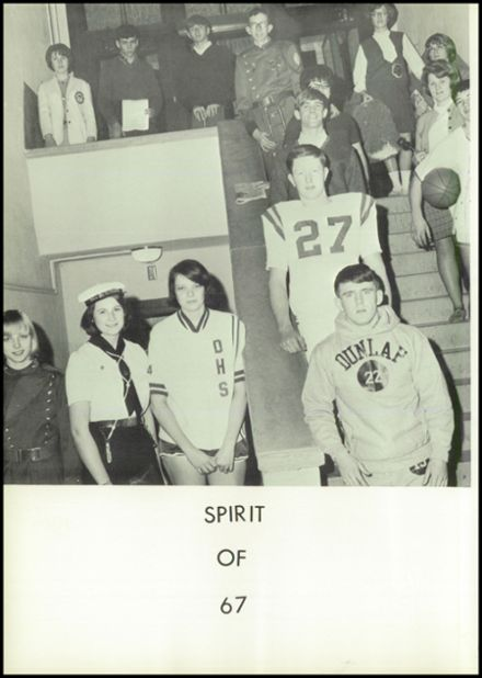 1967 Dunlap Community High School Yearbook Page 6