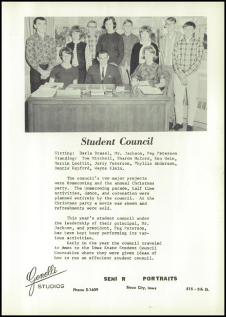 1967 Dunlap Community High School Yearbook Page 7