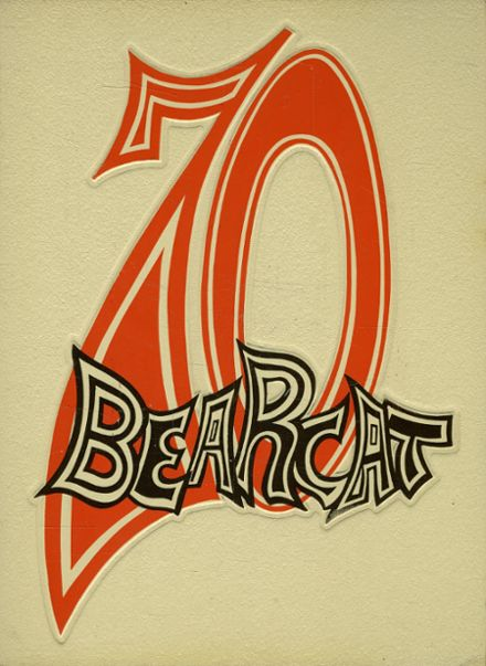 1970 Brookland-Cayce High School Yearbook Cover