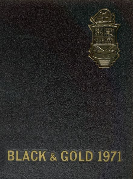 1971 Perrysburg High School Yearbook Cover