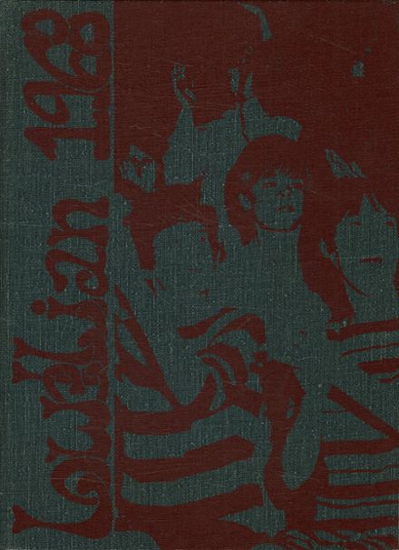 1968 Lowell High School Yearbook Cover