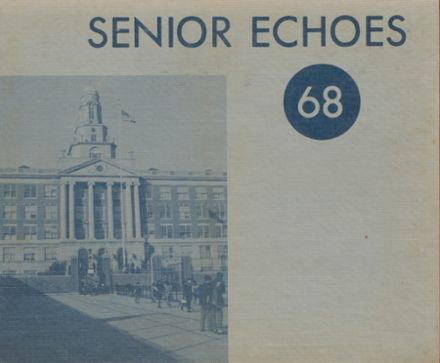 1968 Franklin K. Lane High School Yearbook Cover