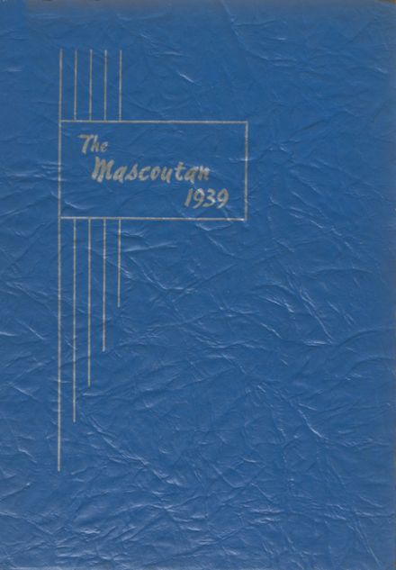 1939 Mascoutah High School Yearbook Cover