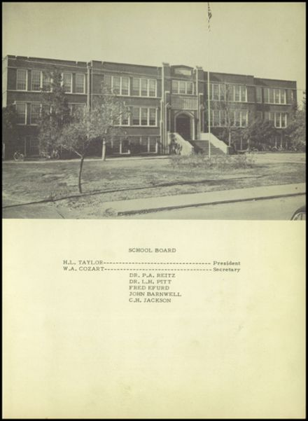 1950 Pittsburg High School Yearbook Page 9