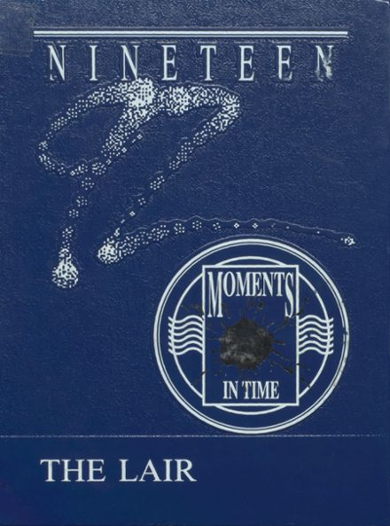1992 Bartlesville Mid High School Yearbook Cover