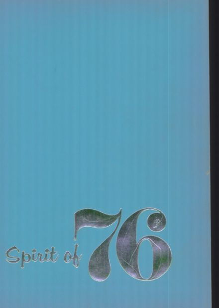 1976 Greencastle-Antrim High School Yearbook Cover