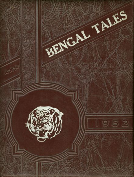 1952 Fairview High School Yearbook Cover