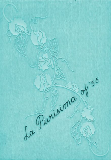 1956 Lompoc High School Yearbook Cover