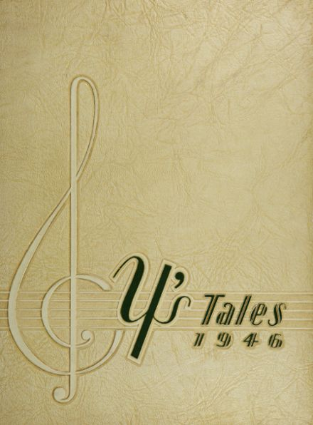 1946 York Community High School Yearbook Cover