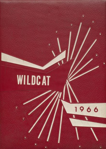 1966 Laney High School Yearbook Cover