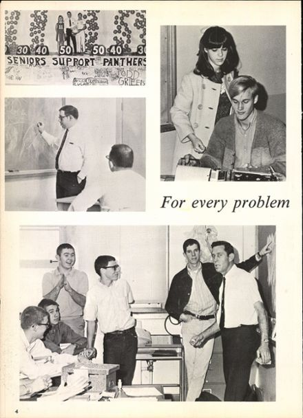 1968 Hillcrest High School Yearbook Page 8