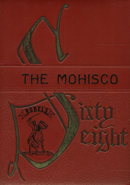 1968 Monroe High School Yearbook Cover