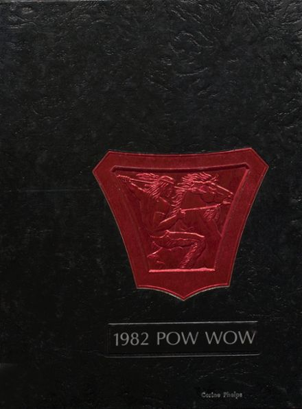 1982 Central High School Yearbook Cover