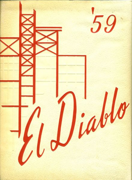 1959 Hinsdale Central High School Yearbook Cover