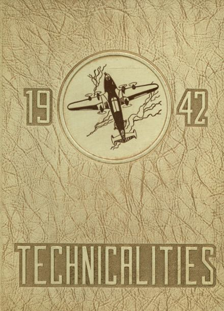1942 Fresno Technical High School Yearbook Cover
