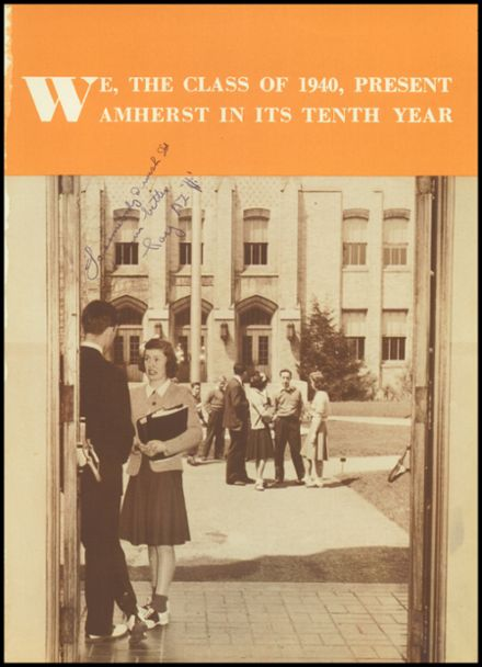 1940 Amherst Central High School Yearbook Page 5