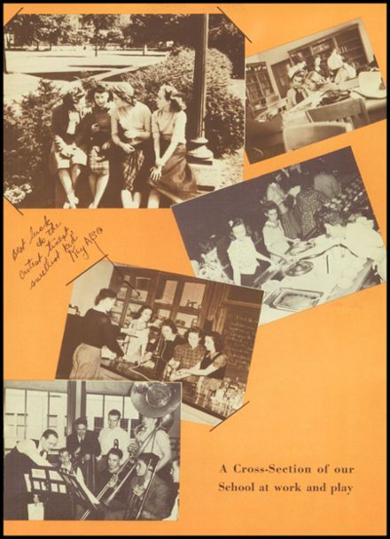 1940 Amherst Central High School Yearbook Page 9