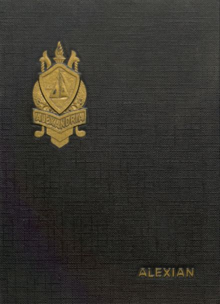 1962 Jefferson High School Yearbook Cover