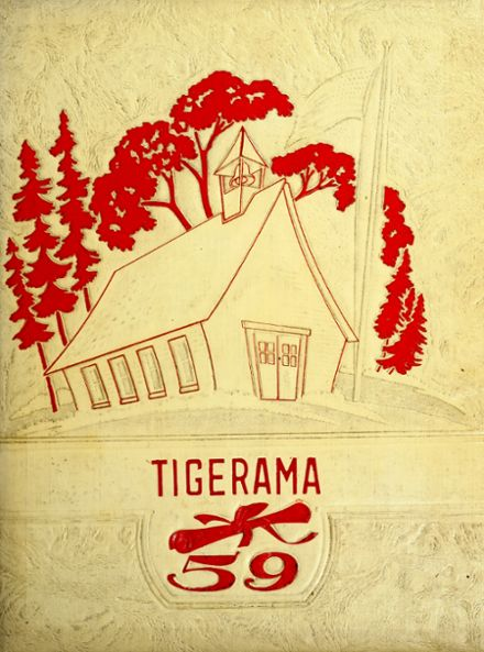 1959 Fishers High School Yearbook Cover