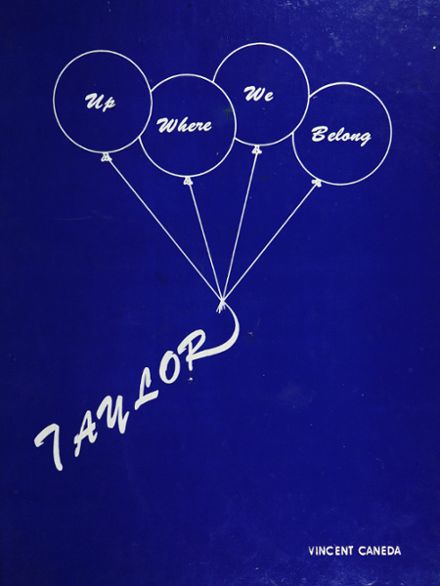 1985 James E. Taylor High School Yearbook Cover