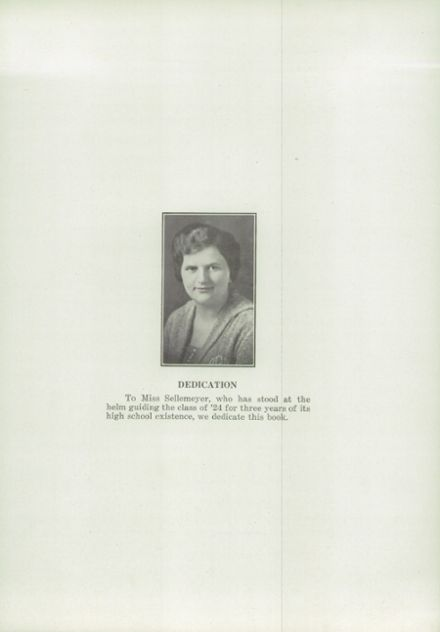 1924 Decatur High School Yearbook Page 7
