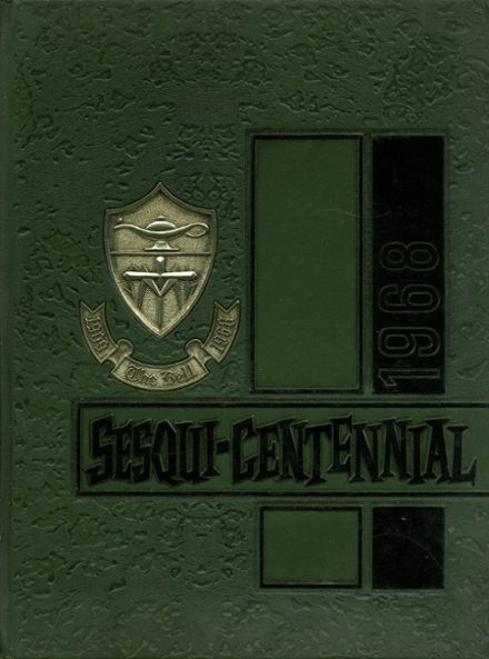 1968 St. Mary's High School Yearbook Cover