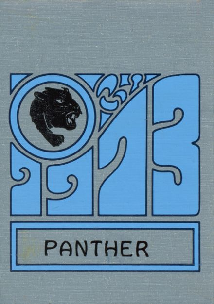 1973 Rugby High School Yearbook Cover