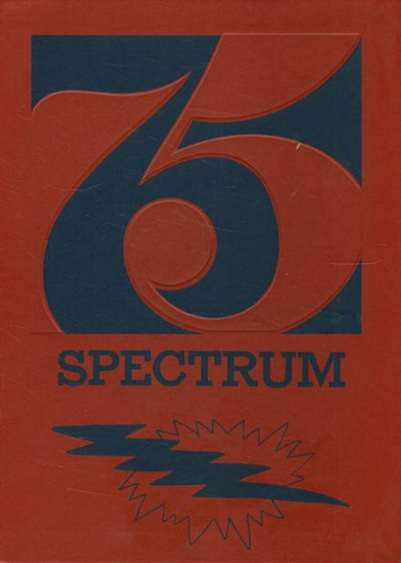 1975 McHenry High School Yearbook Cover