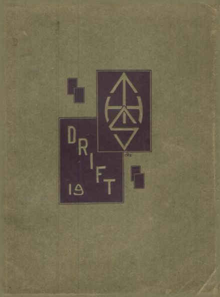 1919 Taylorville High School Yearbook Cover