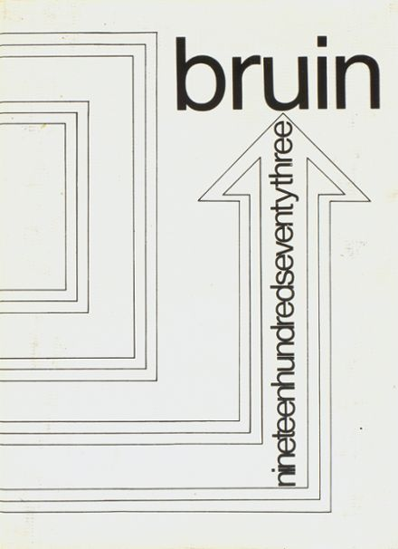 1973 Spring Branch High School Yearbook Cover