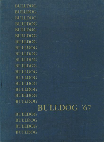 1967 Albany Union High School Yearbook Cover