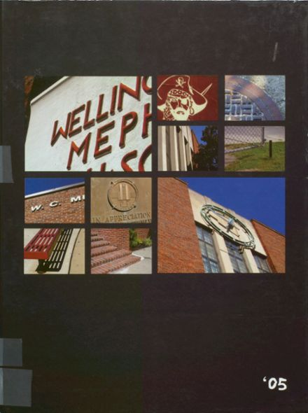 2005 Mepham High School Yearbook Cover