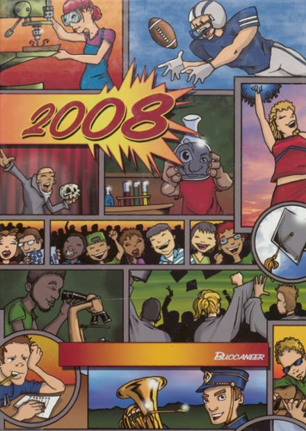 2008 Covington High School Yearbook Cover