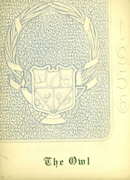 1956 Hale Center High School Yearbook Cover