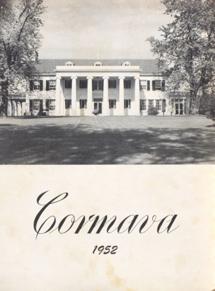 1952 Marymount High School Yearbook Cover