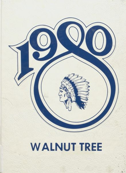 1980 Walnut Community High School Yearbook Cover