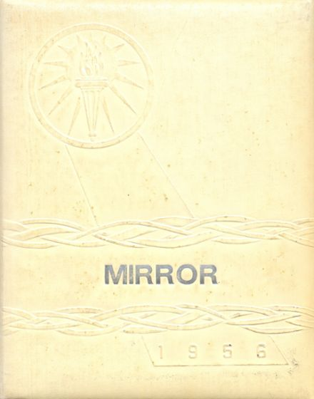 1956 Melvin-Sibley High School Yearbook Cover