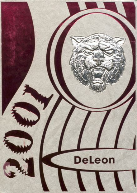 2001 DeLeon High School Yearbook Cover