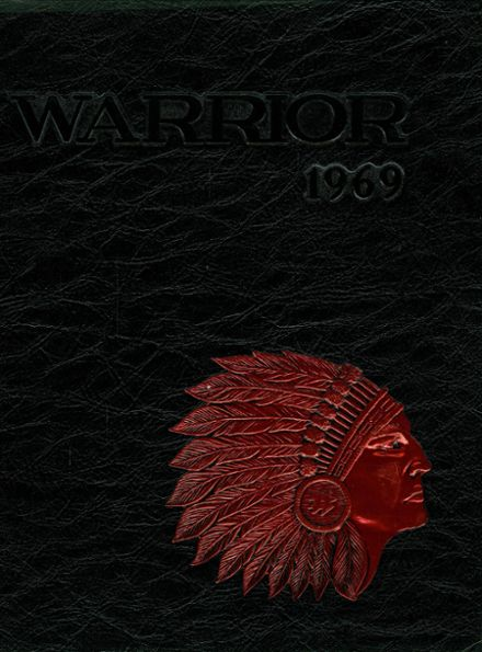 1969 West High School Yearbook Cover