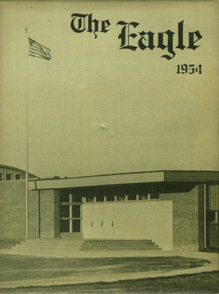 1954 Chichester High School Yearbook Cover