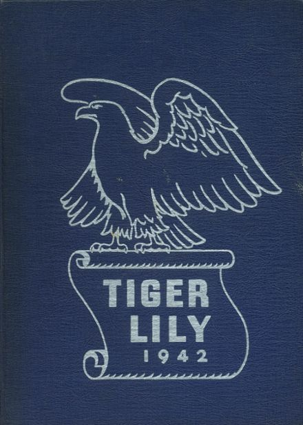 1942 Port Allegany High School Yearbook Cover