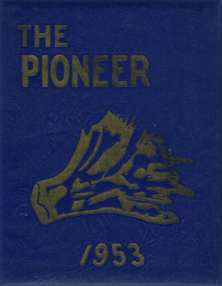 1953 Negaunee High School Yearbook Page 1