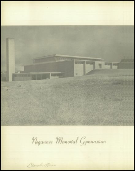 1953 Negaunee High School Yearbook Page 4