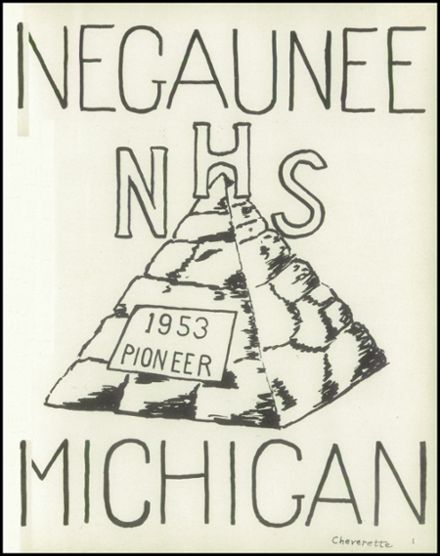 1953 Negaunee High School Yearbook Page 5