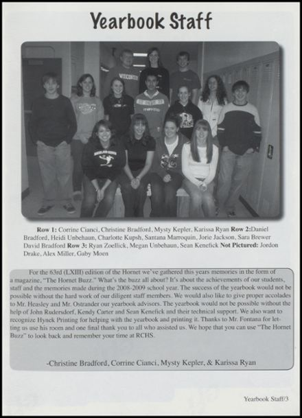 2009 Richland Center High School Yearbook Page 7